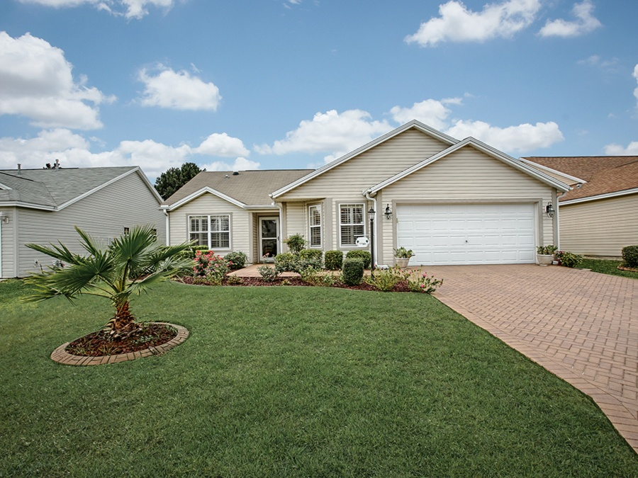 Two Homes for Sale in The Villages, FL Featuring Desirable Floor Plans