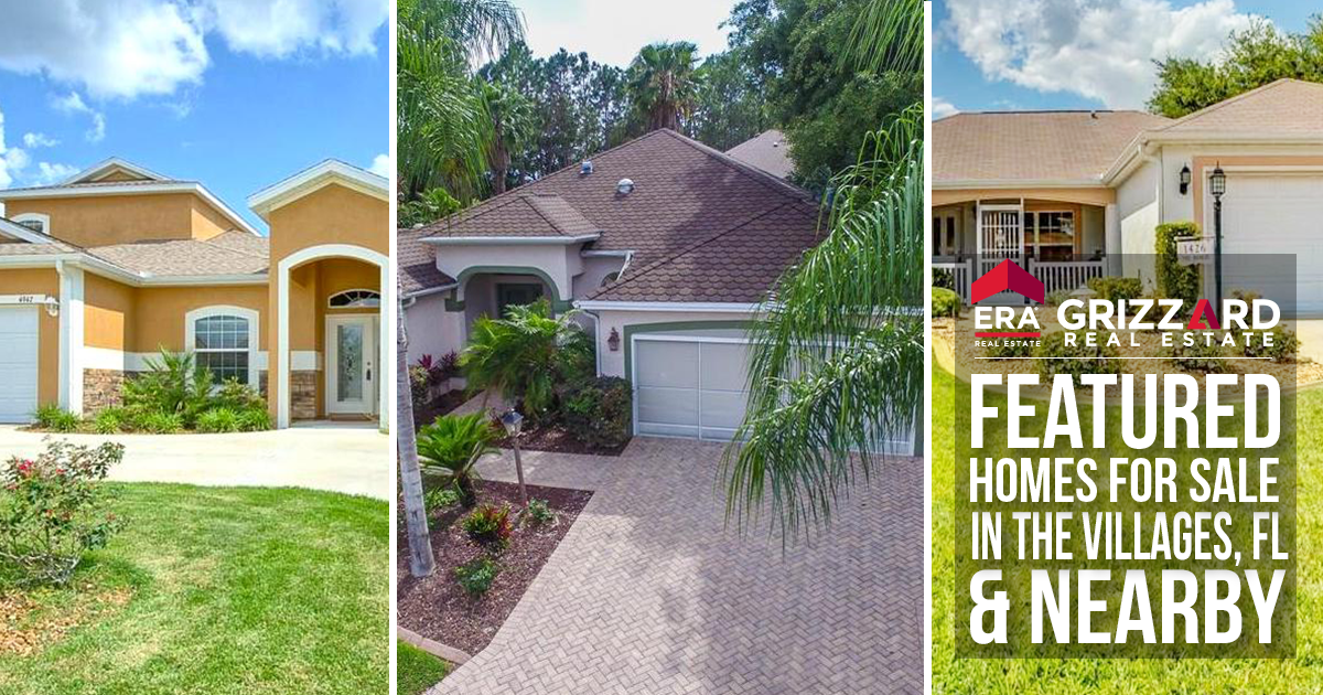 Featured homes in the Villages!