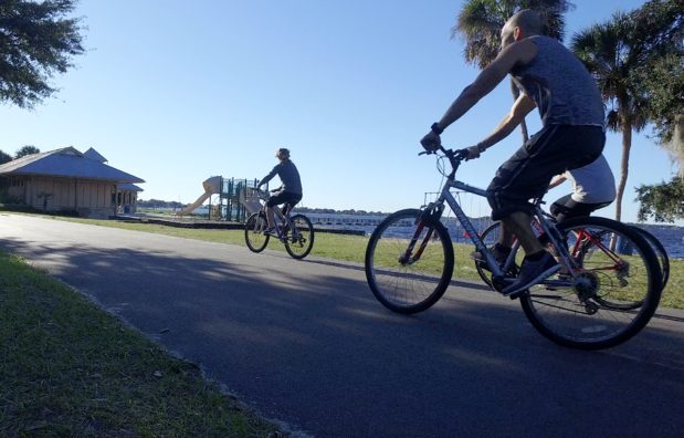 bikers_in_clermont_florida_waterfront_park.png