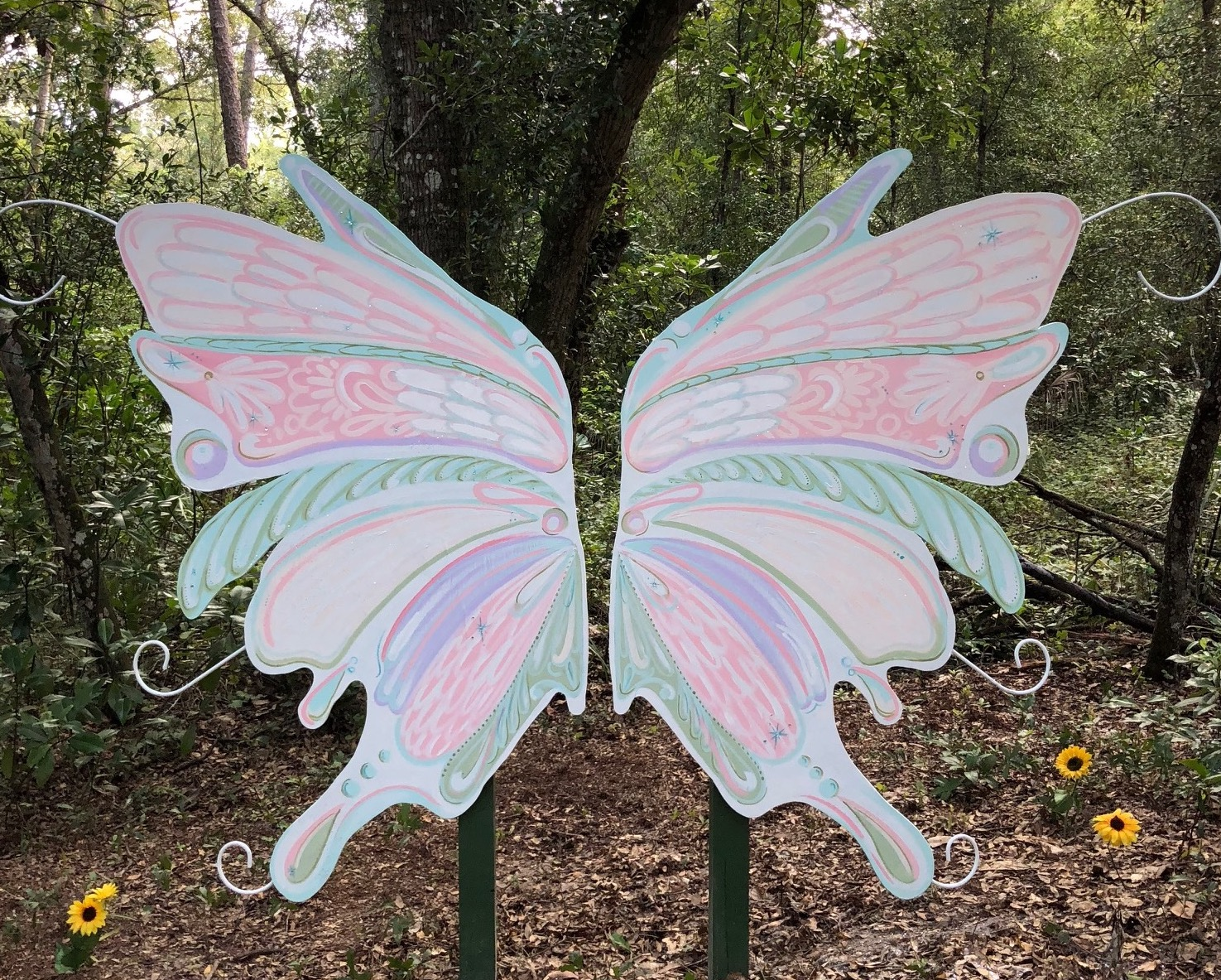 Fairy Trail Cassadaga Wings by Erica Group Deland florida