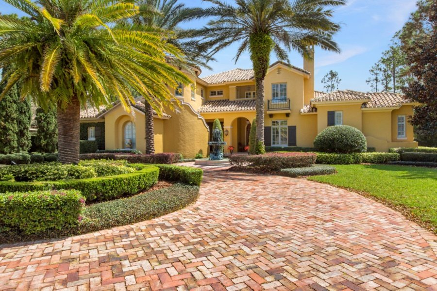 Three of the most luxurious homes for sale in central florida for Designer homes of central florida