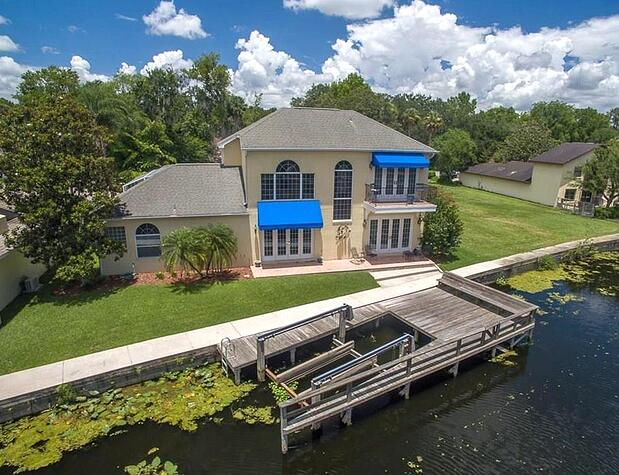 From lagoon front to lakeside the best home for sale in lake county for Venetian gardens swimming pool leesburg fl