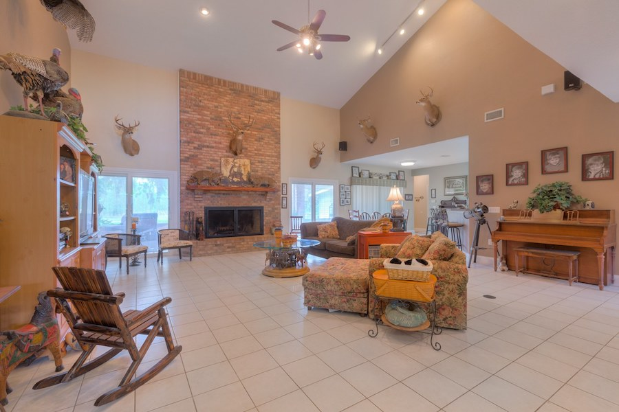 Home For Living tranquil 50 acre luxury living home for sale in volusia county fl