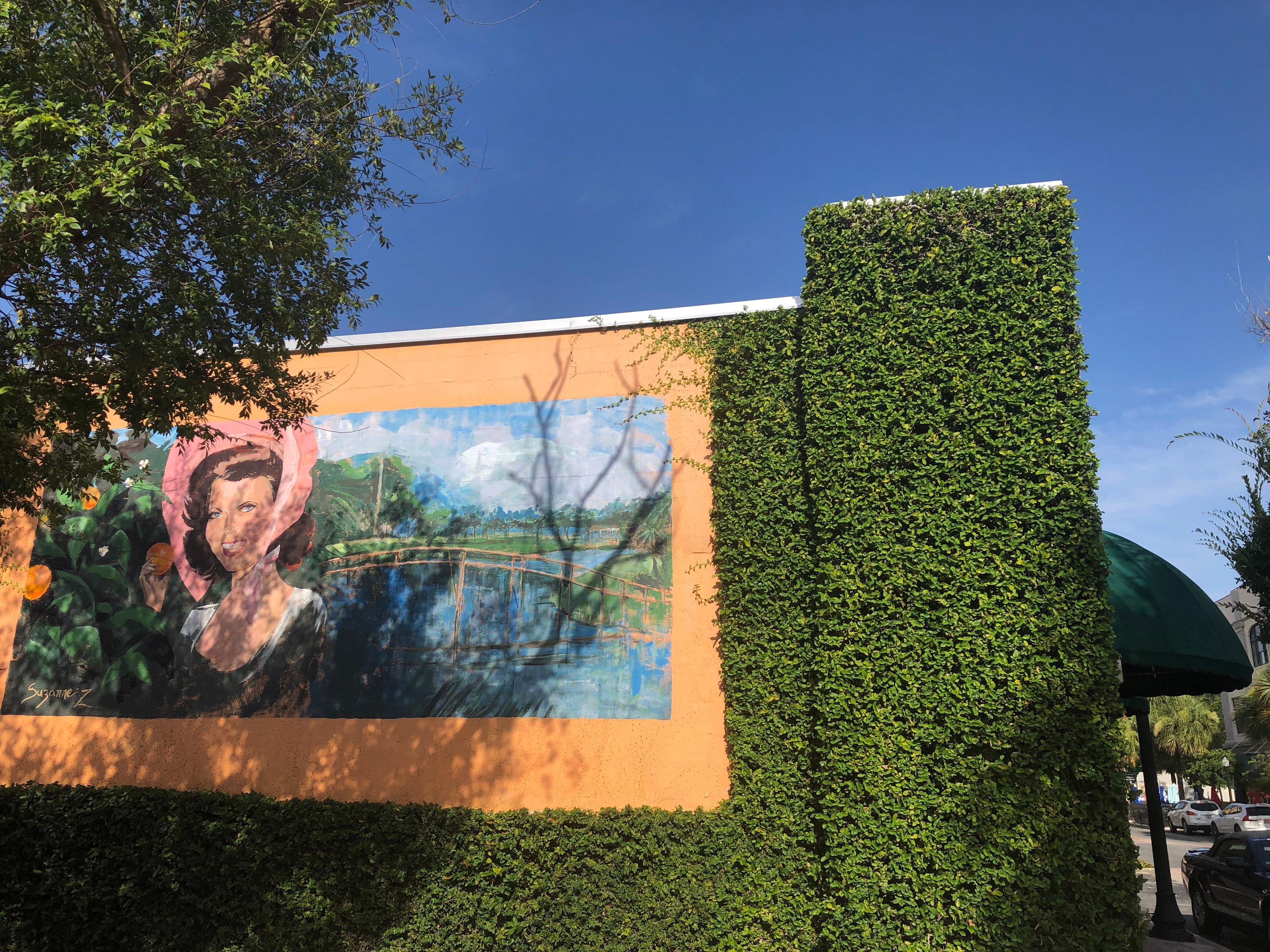 Downtown Leesburg, FL mural