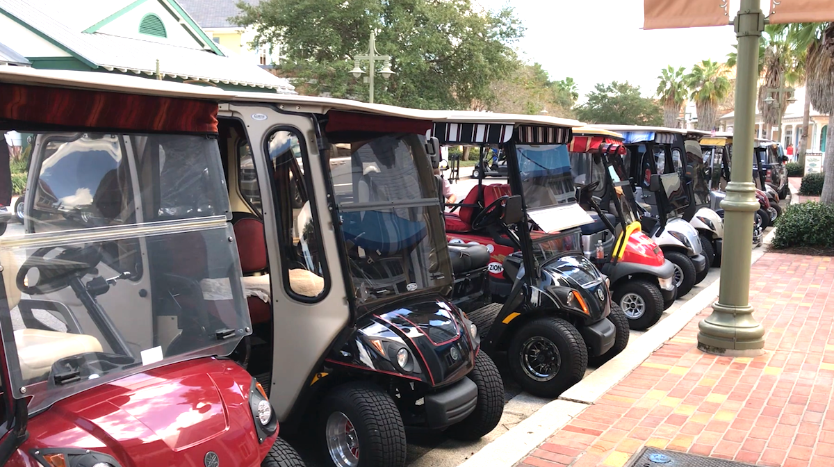 golf carts in the villages florida