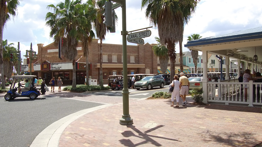 the villages florida town square