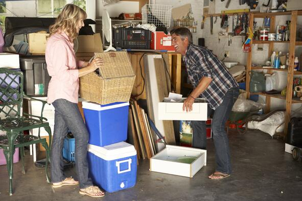 Couple-Clearing-Garage-Sell-your-Home-Faster