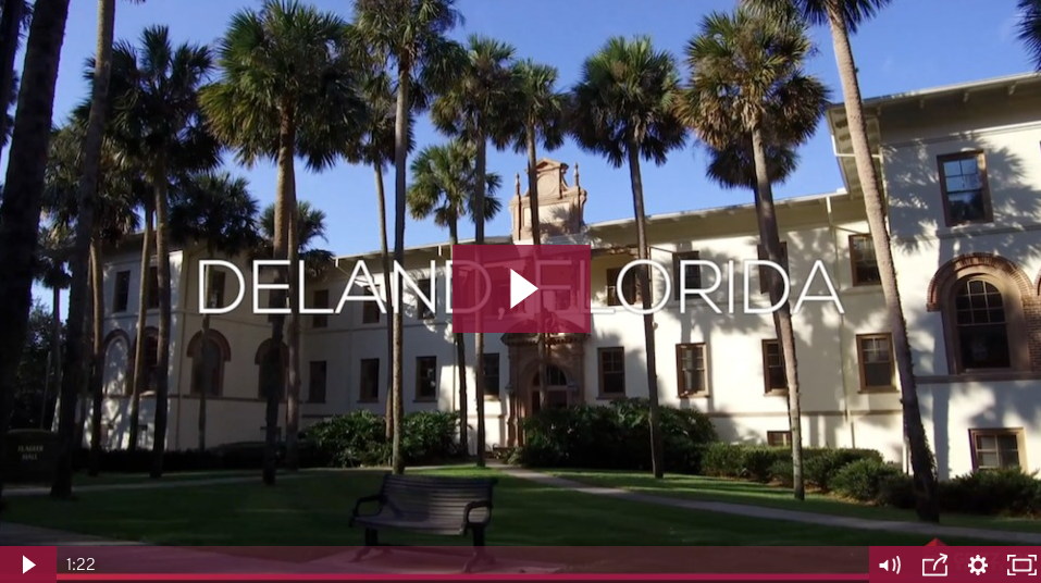 watch video exploring life and real estate in deland