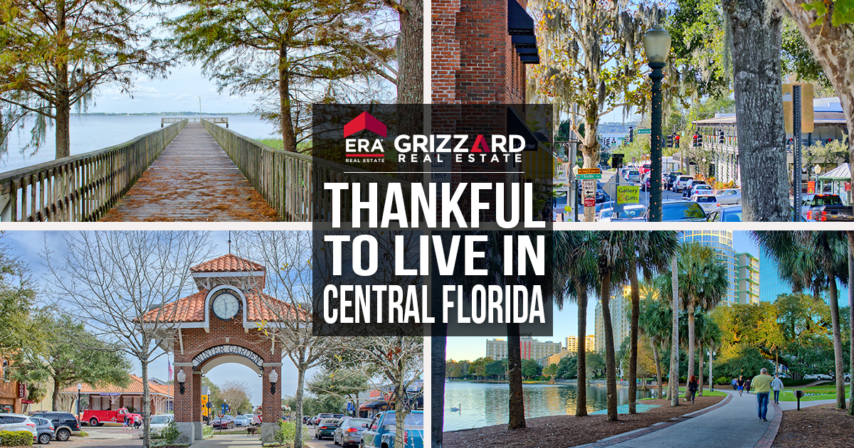 thankful for homes and real estate in central florida