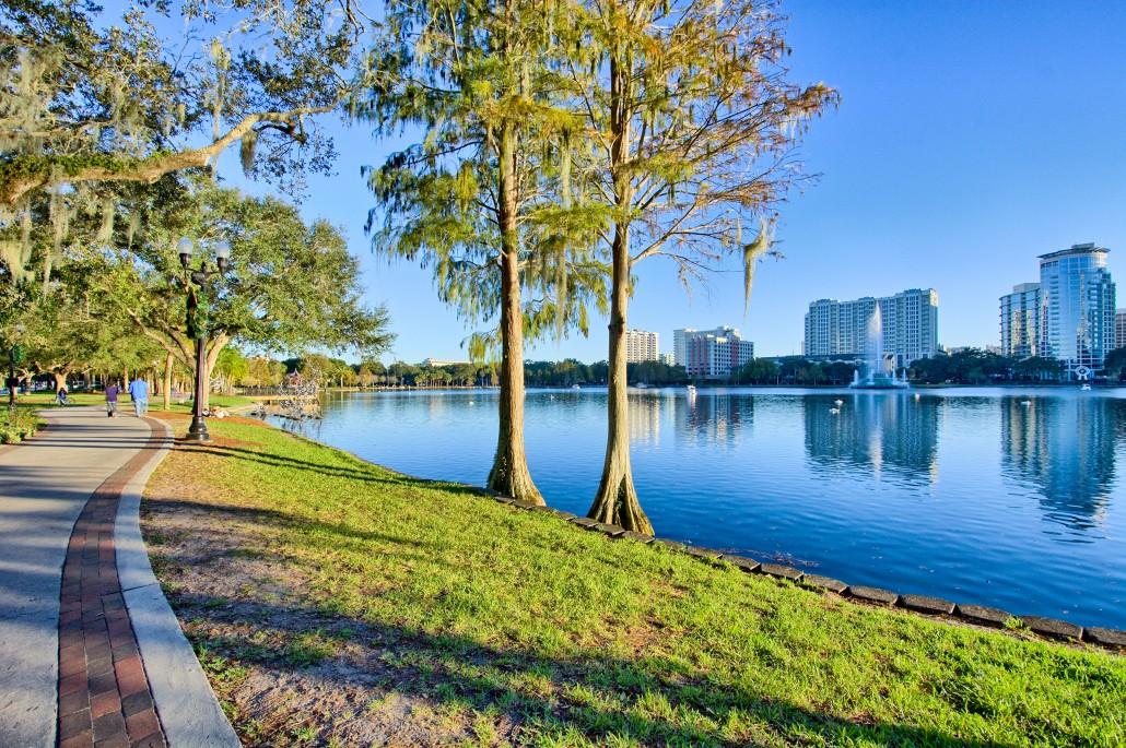 lake eola park_orlando
