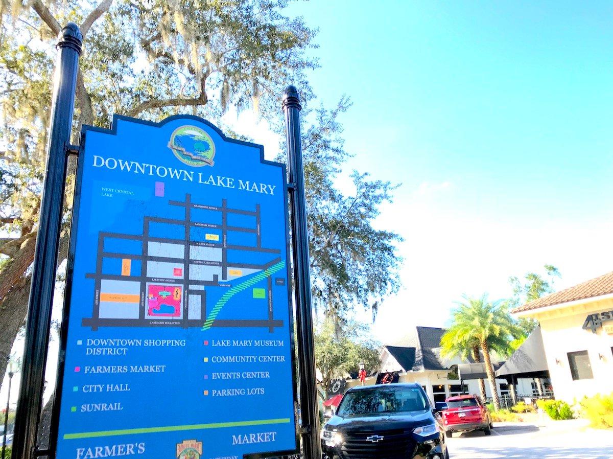 downtown lake mary florida seminole county