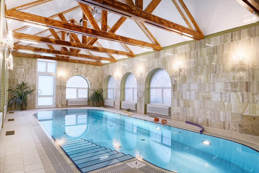 luxury interior pool home florida