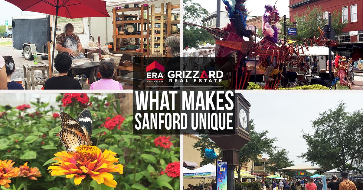 what makes sanford florida unique