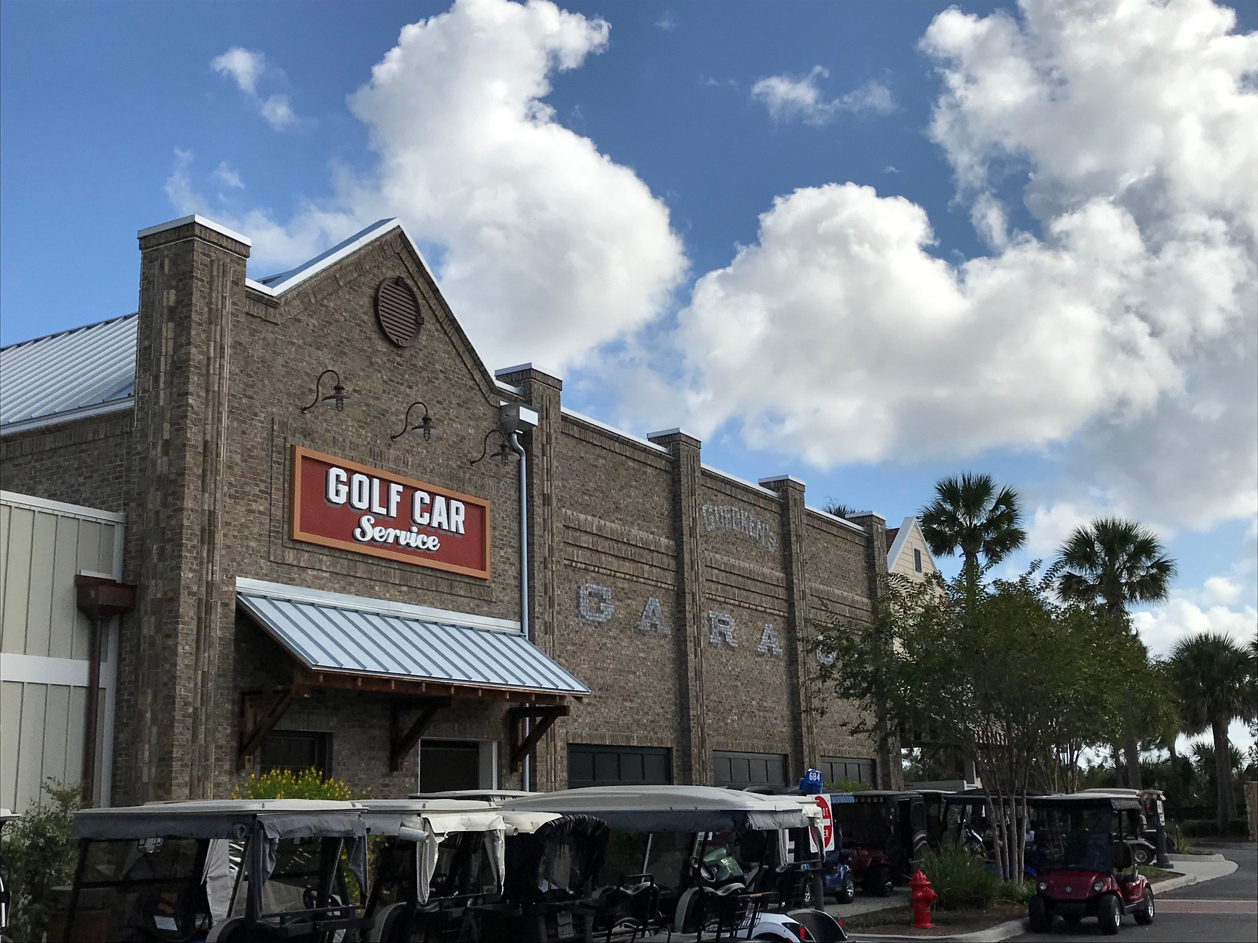 the village florida golf cart station