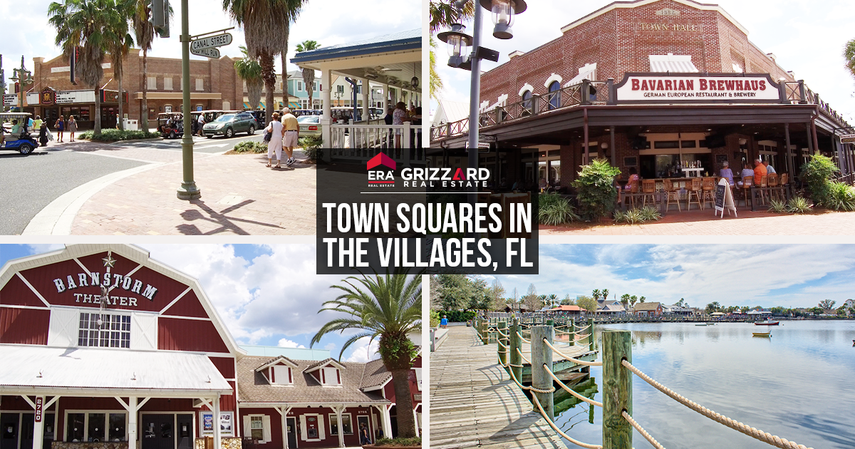 Life Near The Squares Top Hotspots Real Estate In The Villages Fl